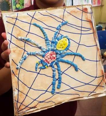 Model Magic spider