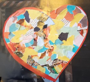 cropped finished heart collage