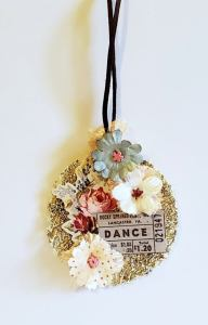Dance collage jewelry