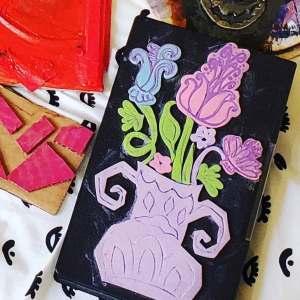 foam flower printing plate