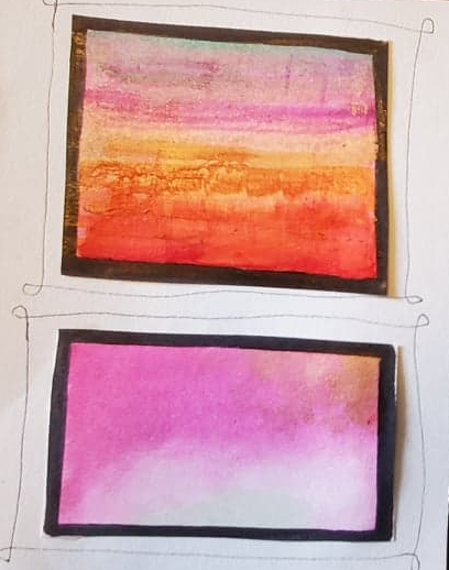 Rothko Inspired rainbows 1